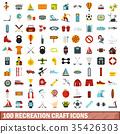 100, recreation, icons 35426303