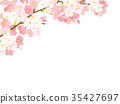 櫻桃背景例證 35427697
