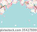 櫻桃背景例證 35427699