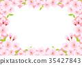 봄, 배경, 꽃 35427843