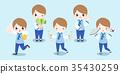 cartoon korea boy 35430259