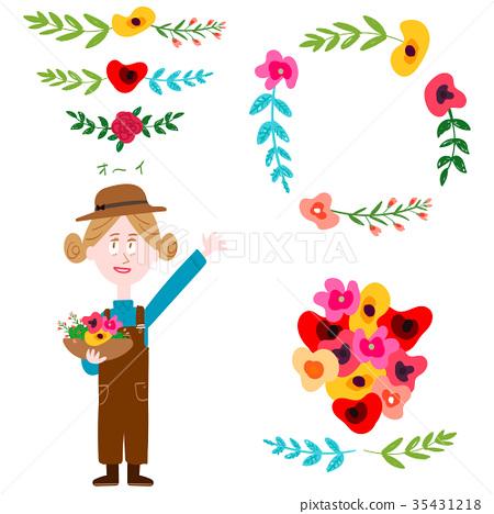 花朵 花卉 花 35431218