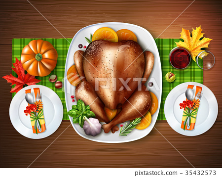 Realistic Top Turkey Composition 35432573