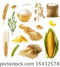 Cereals Icon Set 35432578