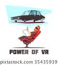 simulator, car, driving 35435939