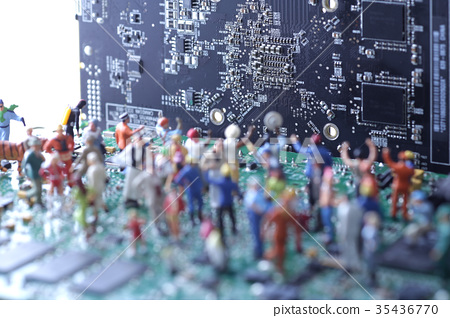 Computer and human 35436770