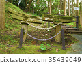 buried torii of ushinefumoto inari shrine, Torii Gate, shrine 35439049