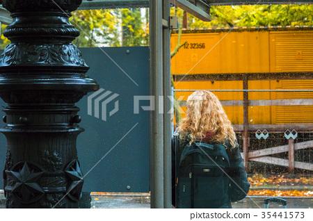 柏林,小牧亭等,柏林,公交車站,候車,柏林,公交車站 35441573