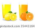 juice, lemon, orange 35443164