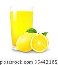 juice, lemon, orange 35443165