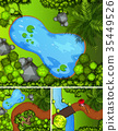 scene park pond 35449526