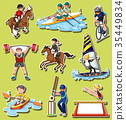 sport, sticker, background 35449834