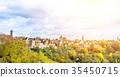 panoramic city skyline in Rothenburg, Germany 35450715