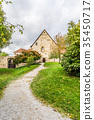 Old house in Rothenburg, Germany 35450717