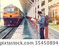 旅行 火车 站 35450894