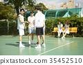젊은여자,젊은남자,친구,스포츠 35452510