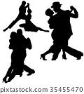 Dance Silhouettes 35455470