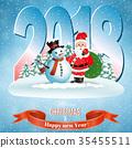 christmas, xmas, snowman 35455511