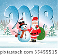 christmas, xmas, snowman 35455515