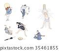 浮世绘 卡通 漫画 35461855