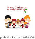 christmas, carol, singing 35462554