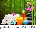 Spa Bright Colorful Background  35462854
