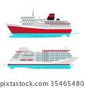 steamer, cruise, liner 35465480