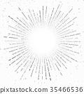 sunburst, vintage, ray 35466536