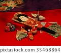 hanging doll decorations, dolls for girl's festival, tsurushi-bina 35468864