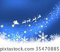 santum, reindeer, reindeers 35470885