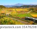 秋天 秋 釜石線 35476208