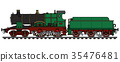 locomotive, steam, railroad 35476481