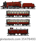 steam, train, vintage 35476493