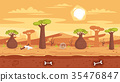 game background vector 35476847