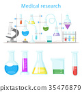 laboratory, vector, chemical 35476879