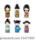日本 洋娃娃 娃娃 35477997