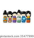 日本 洋娃娃 娃娃 35477999