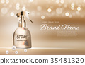 spray, vector, cosmetic 35481320