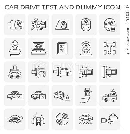 car test icon 35483537