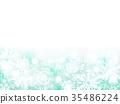 snowy, snow flake, backdrop 35486224