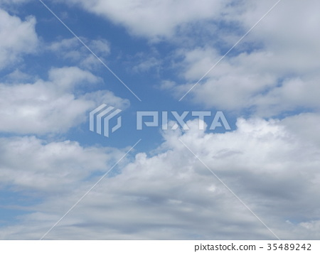 blue sky, blue, White Clouds 35489242