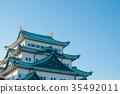 名古屋城堡 城堡 城堡塔楼 35492011