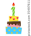 vector, vectors, birthday 35497611
