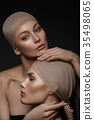 beautiful girls with natural makeup 35498065