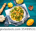pumpkin arugula rigatoni 35499531