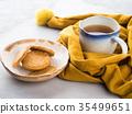 Winter comfort food concept with tea 35499651