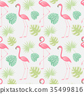 flamingo, pattern, bird 35499816