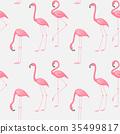 flamingo, pattern, bird 35499817