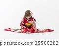 후리 기모노 여성 35500282