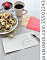 Christmas card, greeting card, greetings card 35503243